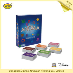 Custom Printed Paper Puzzle Anomia Card Game