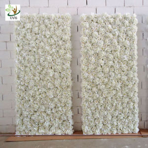 China uvg 5ft white artificial flower wall with silk hydrangea and uvg 5ft white artificial flower wall with silk hydrangea and rose for wedding decoration mightylinksfo