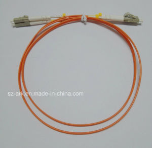 Fiber Optic Cable with Duplex LC-LC Connectors (1M) pictures & photos