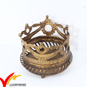 Tea Light Metal Crown Candle Holder Prices pictures & photos