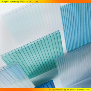 100% Virgin Material Plastic Polycarbonate Hollow Roofing Sheet (XK-353)