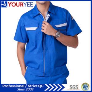 Short Sleeve Antistatic Workwear Clothing Uniform for Worker (YMU120)