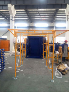 "5′x6′4"" Frame Scaffolding Set Yellow Powder Coated pictures & photos"