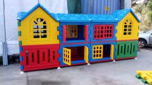 China Colorful Small Kids Indoor Playhouse Plastic Hourse (2017 ...