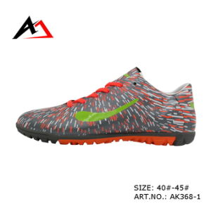 Football Comfortable Soccer Cheap Outdoor Shoes for Men Women (AK368-1) pictures & photos