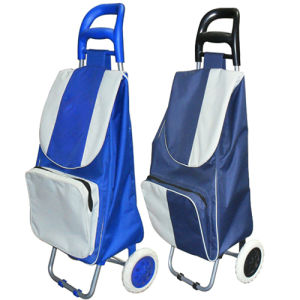 High Quality Folding Trolley Shopping (SP-546) pictures & photos