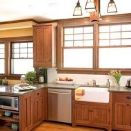 Kitchen Furniture Craftman Style Kitchen Cabinets (cm-7) pictures & photos