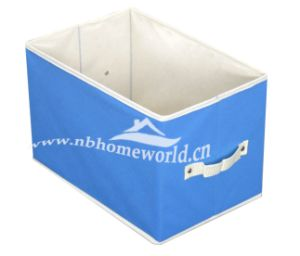 Solid Colour Non Woven Storage Case with Handle