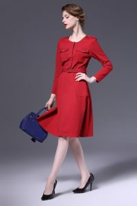 OEM New Fashion European Style Office Ladies Dress pictures & photos