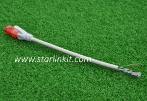 Cat5e CAT6 UTP STP Patchcord Cable with RJ45 Snagless Connector pictures & photos