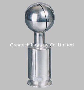 Stainless Steel Sanitary Cleaning Ball, Clamp or Welded End.
