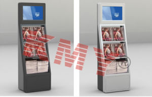 Multi-Size Self-Service Library Advertising Kiosk pictures & photos