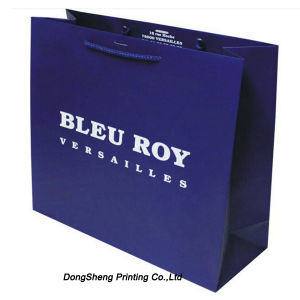 Noble Design of Paper Gift Shopping Bag for Garment