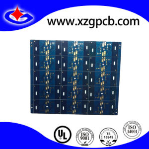 Multilayer PCB with Gold Plating and Blue Soldermask pictures & photos