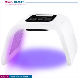 Korea Style 4 Color LED PDT Light Skin Care Beauty Machine LED Facial SPA PDT Therapy for Skin Rejuvenation Acne Remover Anti-Wrinkle