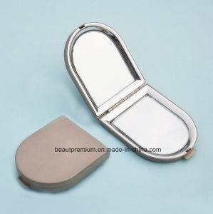 Creative House Shape Metal Double Side Pocket Makeup Mirror BPS0219