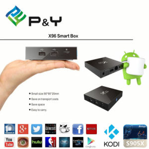 Factory Support X96 Quadcore Android6.0 1g8g 4k Smart TV Box pictures & photos