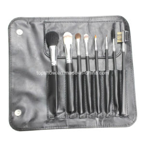 Personalized 8 PCS Top Quality Wooden Handle Cosmetic Makeup Brush with a Bag