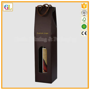 Gift Custom Corrugated Paper Box for Wine Packaging pictures & photos