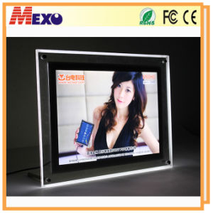 Elegant Tabletop Crystal LED Photo Frame pictures & photos