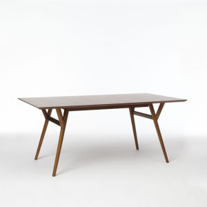 Modern Wooden Design Sqaure Dining Table