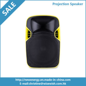 12 Inches Active DJ Speaker with LED Projector and Screen
