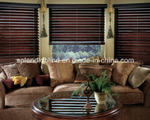 25mm Ladder String Wooden Blinds (SGD-W-5621)