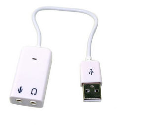 USB Sound Card Viturl 7.1 pictures & photos