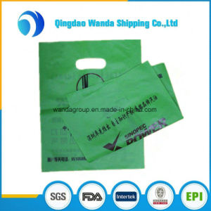 Customized HDPE Color Royal Glossy Merchandise Die Cut Bag