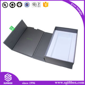 Consumer Electronic EVA Insert Packaging Foladable Box