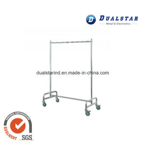 Stainless Steel Room Clothing Delivery Vehicle for Hotel