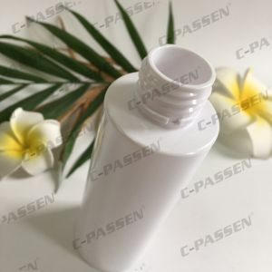 120ml 160ml 200ml White Plastic Pet Cream Bottle with Lotion Pump (PPC-PB-081) pictures & photos