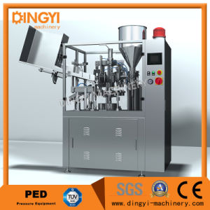 Toothpaste Tube Filling and Sealing Machine Gfj-60 pictures & photos