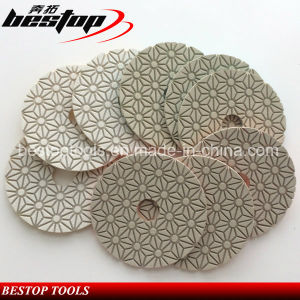 3-Step Diamond Flexible Polishing Pads for Stone pictures & photos