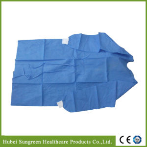 SMS Non-Woven Surgical Gown with Knitted Cuffs pictures & photos