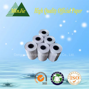 57*45mm Custom Thermal Printed Paper Rolls for Advertisement
