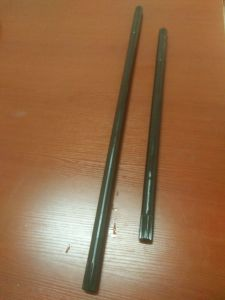 42CrMo Material Shaft (826mm long) with Knurling at Two Ends pictures & photos