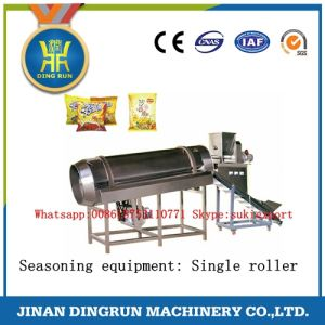 Corn ring snack food extrusion machine