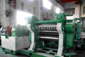 Three Roll Rubber Sheet Calender Machine pictures & photos