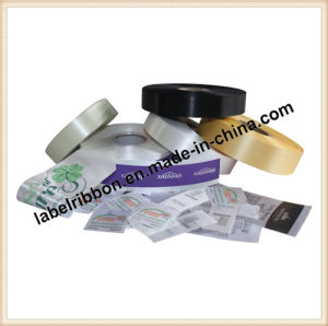 Thermal Transfer Printing Slited Edge 100% Polyester Satin Ribbon (PS6200) pictures & photos