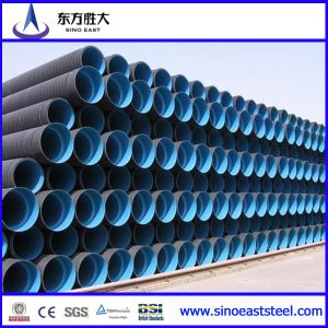 HDPE Pipe Steel Reinforced Polyethylene Spiral Corrugated Pipe pictures & photos