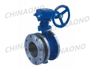 Gear Flange Type Flexible Triple Butterfly Valve pictures & photos