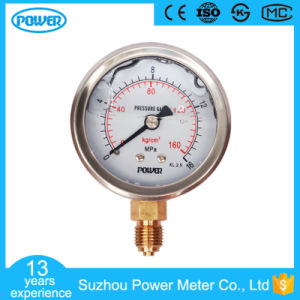 2.5′′ 63mm 0-16 MPa Stainless Steel Glycerin Filled Manometer pictures & photos