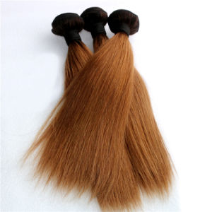 Ombre Hair 100% Burmese Remy Hair Extension pictures & photos