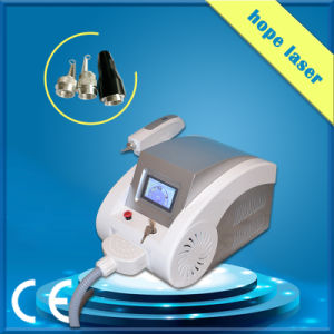 Portable Q Switched ND YAG Laser Tattoo Removal / Yellow Tattoos Removal pictures & photos