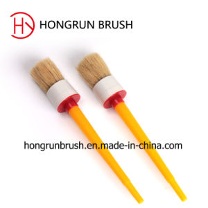 Round Paint Brush with Plastic Handle (HYR072) pictures & photos