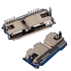 Female Type B SMT 10pin Micro USB 3.0 Connector