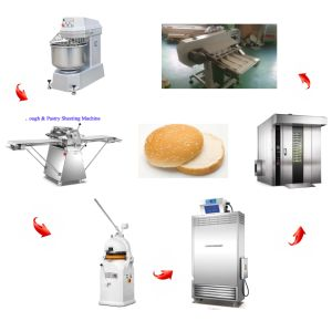 Automatic Burger Bread Production Line for Making Hamburger with 2000PCS Per Hour (HL-2000)