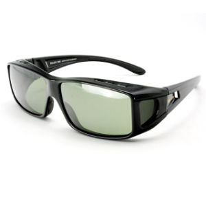 Designer Fashion Polarized Fit Over Sunglasses for Men (14327)