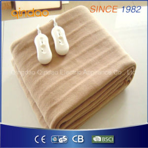 Pure Polyester Bed Electric Heated Blanket pictures & photos